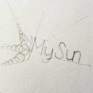 skiciranje logotipa Proteam KREATIV